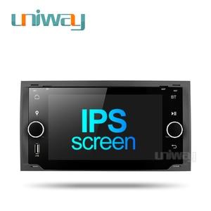 Image 1 - Uniway ALLFKS7071 포드 Mondeo C max 포커스 갤럭시 S max 퓨전 레인저 탈출 원정대 fiesta 용 2G + 32G 안드로이드 9.0 차량용 dvd