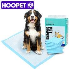 Almofadas de treinamento para animais de estimação hoopet super absorvente fralda para cães cão e filhote de cachorro à prova de vazamento almofadas de xixi com produtos de superfície para cães de secagem rápida