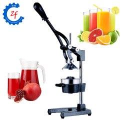 Ręcznie naciśnij sokowirówka instrukcja arbuz sok z cytryny wyciskarka ze stali nierdzewnej orange granatu maszyna do produkcji soków|Sokowniki|   -