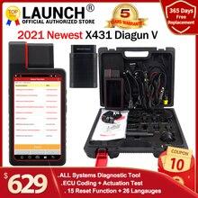 إطلاق X431 Diagun V كامل نظام Diagnotist أداة 2 سنوات تحديث مجاني X 431 Diagun IV رمز ماسحة أفضل من Diagun iii