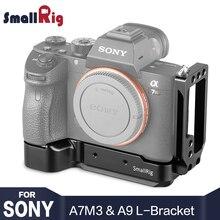 SmallRig A73 L płyta dla Sony A7M3 A7R3 l wspornik dla Sony A7III / A7RIII / A9 funkcja z Quick Release Arca styl płyta 2122
