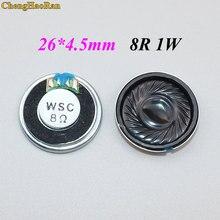 Chengaoran – Mini haut-parleur 1W, 8 Ohms, 8R, diamètre 26MM, épaisseur 4.5MM, petit klaxon, 10 pièces