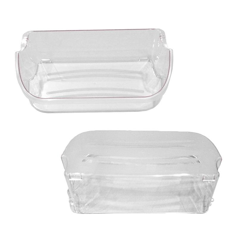 For Frigidaire Refrigerators Door Bin Shelf Buckets Clear Replacement 240356402
