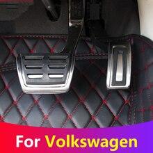 Car Accelerator Gas Brake Pedal Clutch Pedals Cover For VW Golf 7 GTi MK7 Seat Leon 5F MK3 Octavia A7 Rapid Audi A3 8V Passat