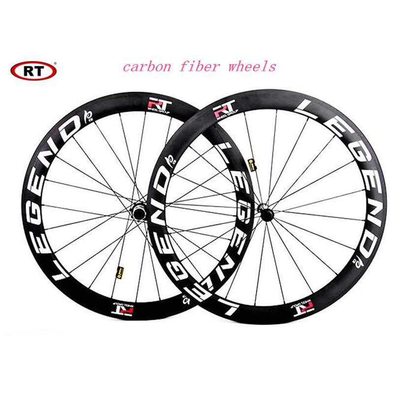 <font><b>RT</b></font> C38 C50 Roab Bike Bicycle Racing Competition Full Carbon Fiber Wheels <font><b>Wheelset</b></font> Rims image
