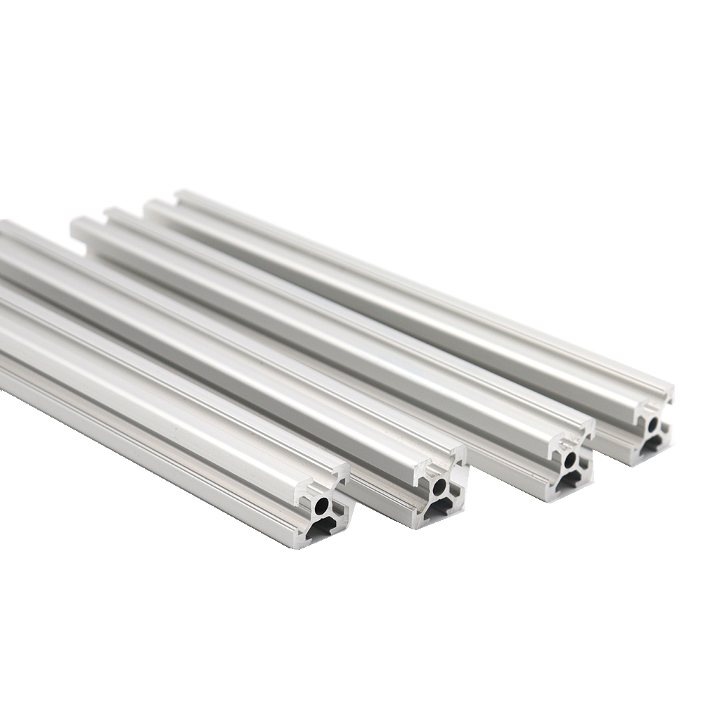 Linear Guide 2020 Hole 5mm T-Slot Aluminum Profile Extrusion Frame CNC 100/150/200/250/300/350/400/450/500/550/600mm