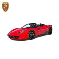 Good Quality Carbon Fiber Car Universal Side Skirts For Ferrari 458 OEM Style