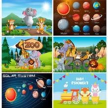 Фоны shuozhike для фотосъемки детей и малышей на день рождения