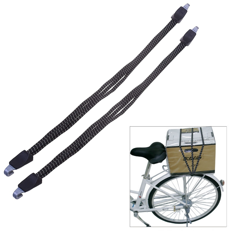 Bicycle Bike Cycling Elastic Rope With Hooks Bandage Straps Belt Box Packing Bungee Rope Luggage Tie Accessory
