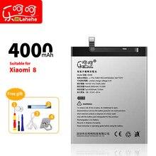 Аккумулятор Lehehe BM3E для Xiaomi 8 большой емкости 4000 литий-ионный полимерный сменный аккумулятор с бесплатным инструментом для удаления