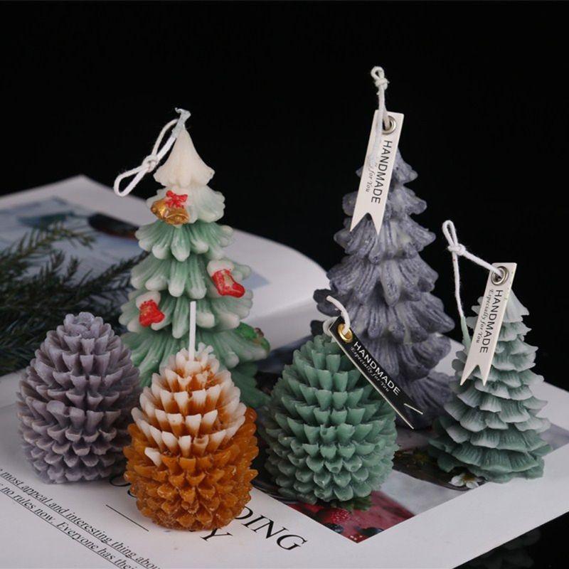 Boji Molde de silicona 3D para velas de Navidad moldes de jab/ón casero velas de gato moldes de silicona para hacer velas y jabones taza de t/é