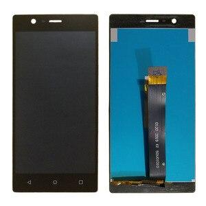 """Image 2 - N3 מסך עבור Nokia 3 תצוגת LCD ומסך מגע Digitizer עצרת 5.0 """"LCD עבור נוקיה N3 תצוגת TA 1020"""
