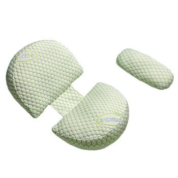 Poduszka ciążowa w kształcie litery U poduszka dla mamy poduszka do spania poduszka ciążowa poduszka ortopedyczna poduszka do karmienia poduszka w talii tanie i dobre opinie MATERNITY CN (pochodzenie) Cotton