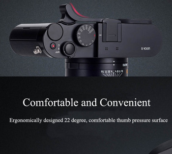 Nowy uchwyt na kciuk uchwyt na kciuk osłona gorącej stopki na kciuk Leica Q Typ 116 Black Red tanie i dobre opinie OLOEY Aluminium CN (pochodzenie)