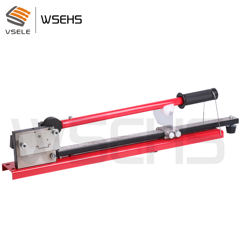 Tools : multifuntional din rail cutter din rail cutting tool easy cut with measure gauge
