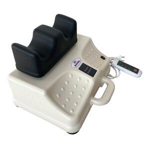 Image 4 - Máquina Eléctrica de oscilación aeróbica para pies oscilantes, masajeador de fisioterapia para cintura, dispositivo de tracción de columna vertebral Cervical y lumbar