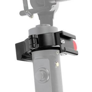Image 5 - BGNing кольцевой держатель зажим w Горячий башмак для микрофона светодиодный светильник видео полевой монитор мобильные видеосъемки Для Zhiyun Smooth 4
