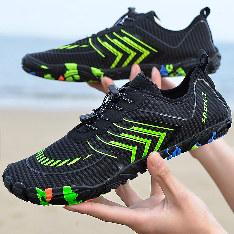 2021 new outdoor unisex water sports shoes couple summer beach water wading shoes swimming fishing shoes