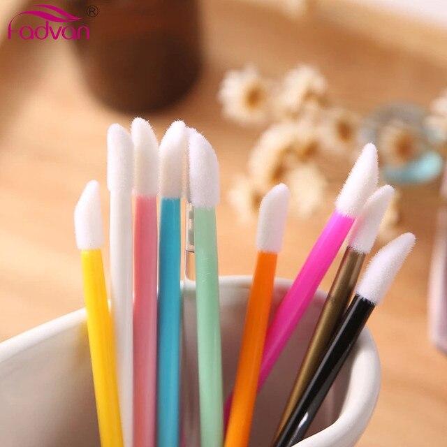 150 Pcs/pack Disposable Cosmetic Makeup Lip Brush Lipstick Lip Glossy Wands Pen Cleaner Applicator Eyeshadow Lip Gloss Brushes 1