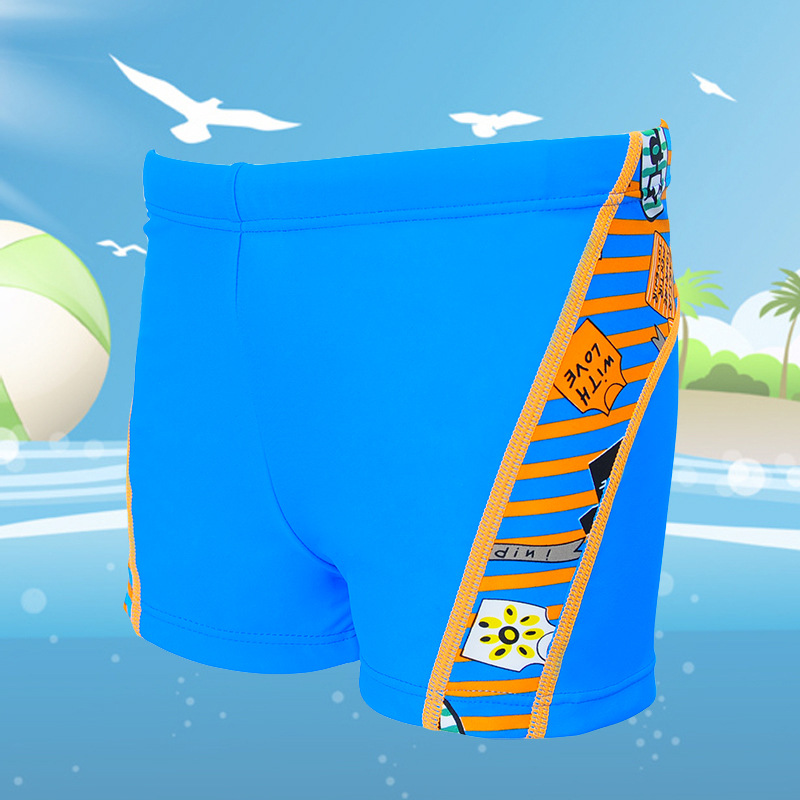 Banfi Brand Cartoon CHILDREN'S Swimming Trunks Boxer Swimming Trunks BOY'S Boxer Shorts Boy Swimming Shorts