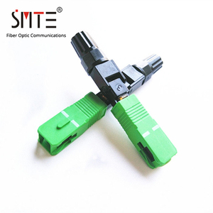 Image 2 - 100ppc/lot Splicer SC APC single mode 60mm APCNPFG 8802 TLC/3 XF 5000 0322 3 Fast Connector SC/APC 0.2dB SM fiber optic
