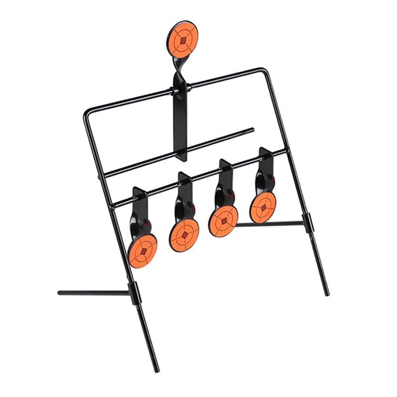 For Indoor Outdoor Training Practice Shooting Target Steel Automatic Reset Targets