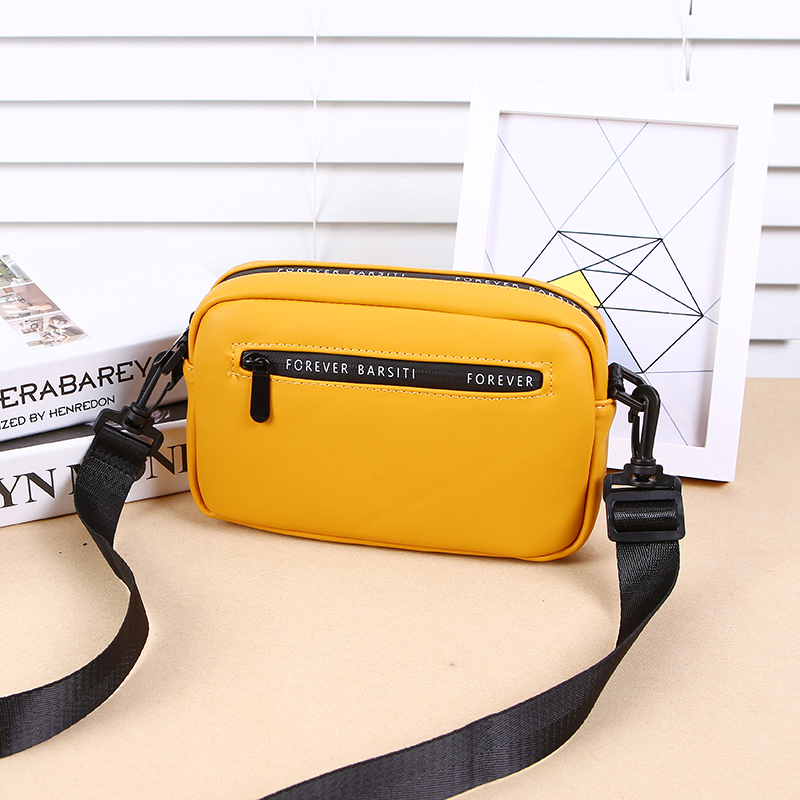 Vintage Crossbody PU Leather Cell Phone Shoulder Bag Messenger Bags Fashion Daily Use For Women Wallet HandBags