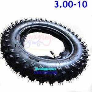 Image 4 - 3.00 10 Bánh Sau Lốp Xe Bên Ngoài Lốp 10 Inch Sâu Răng Bụi Bẩn Hố Xe Đạp Tắt Đường Xe Máy Sử Dụng Quảng lý CRF50 Apollo