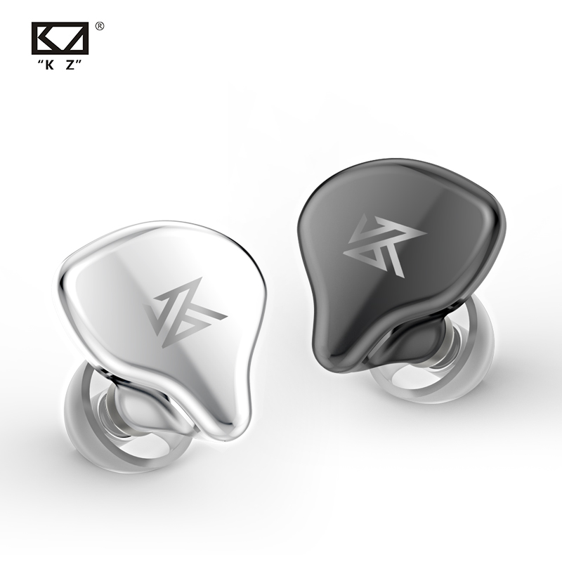 KZ S1 S1D TWS True Wireless Earbuds KZ Bluetooth 5.0 Earphone 1BA+1DD Hybrid Portable HIFI Stereo Sport Headset Noise Cancelling image