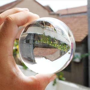 30mm-80mm Klar Glas Kristall Ball Healing Für Kugel Fotografie Foto Requisiten Geschenke Hause Dekorative Ball