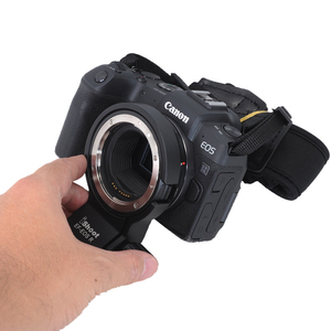 Image 5 - iShoot Lens Collar Foot with Camera Ballhead Quick Release Plate for Canon EF EOS R Tripod Mount Ring