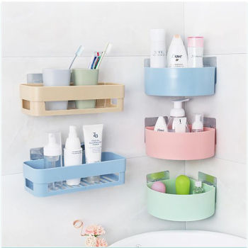 Zuczug Wall Hanging Bathroom Organizer Helps For Storage Of Soap And Shampoo