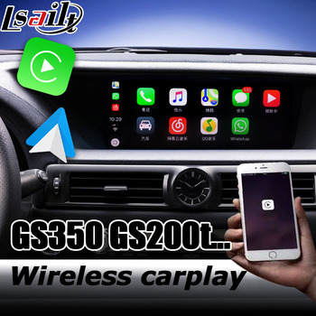 Carplay interface box for Lexus GS 2012-2019 12.3 video interface remote touch control GS200t GS300 GS350 GS450h by lsailt image