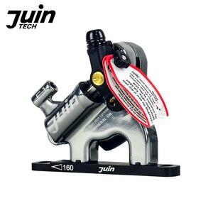 Image 2 - Juin Tech F1 della bicicletta freno a disco pinza linea di tiro freni idraulici set MTB XC strada mountain bike rotori dei freni 160mm piatto di montaggio