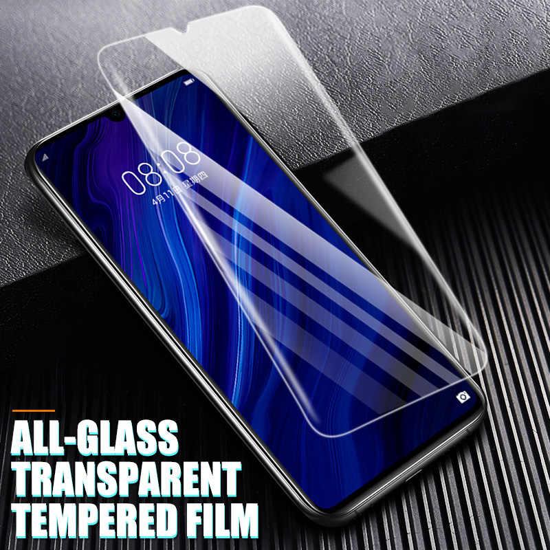 9H Hardness Tempered Glass untuk Huawei P30 Lite P20 Pro P Smart 2019 Pelindung Layar Pelindung untuk Huawei Mate 10 20 Kaca Film