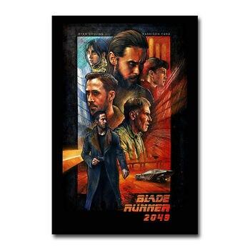 Blade Runner 2049 película caliente 2 pegatina de la pared decoración del hogar cartel de Arte de seda