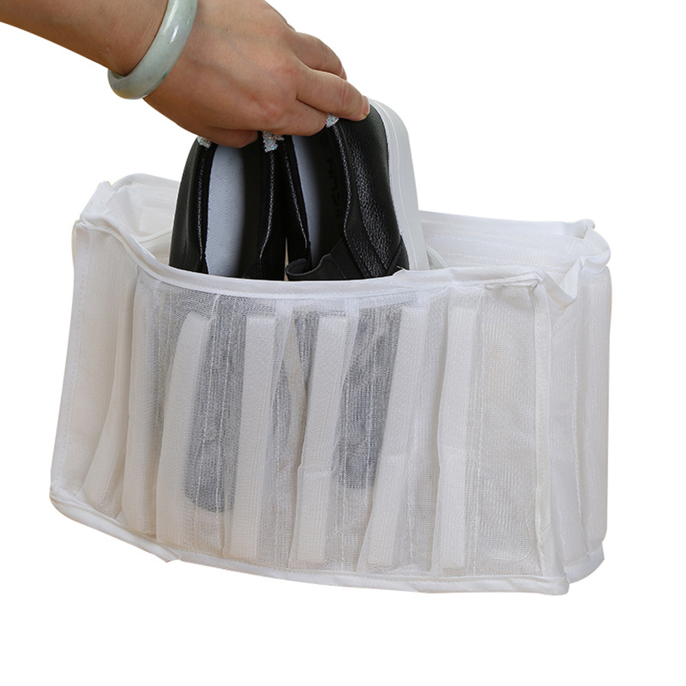 Mesh Net Pouch Washing Bag For Shoes Machine Cleaning Laundry Shoe Bag Care Case Shoe Protector Organizer