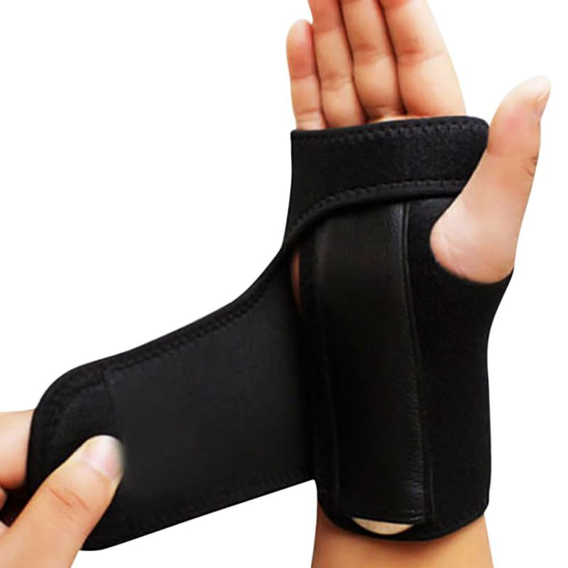 1 PC Outdoor Wrist Gloves Arthritis Bandage Wrist Support Finger Carpal Tunnel Syndrome Protection Mittens