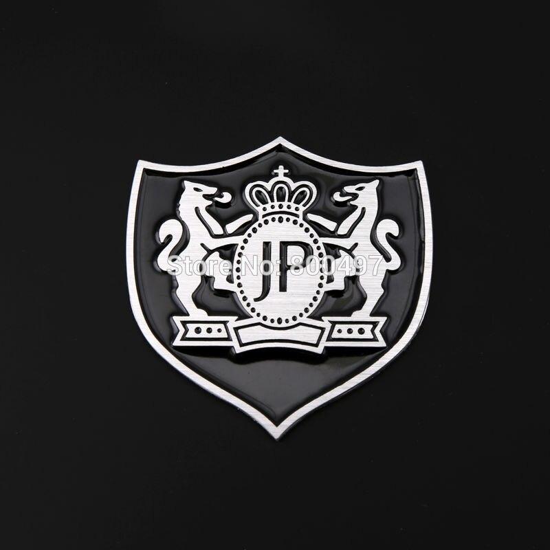 L/&U Cola 9pcs aleaci/ón de Aluminio de Oro del Coche de la Puerta Interior Etiqueta engomada del Emblema de Jeep Renegade 2016+,Rojo