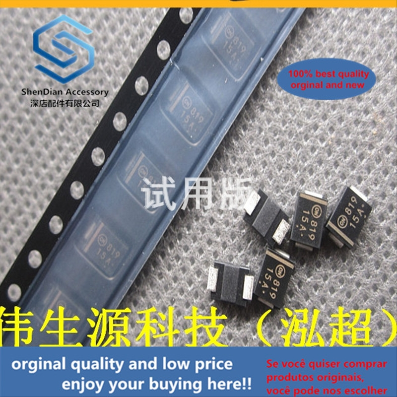 50pcs 100% Orginal New Best Quality Main Patch 15V Unidirectional TVS Transient Diode SMBJ15A (P6KE15A) DO-214AA