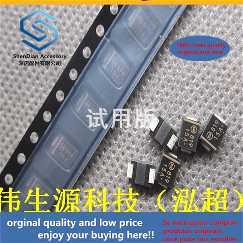 50pcs 100% Orginal New Best Quality Main Patch 15V Unidirectional TVS Transient Diode SMBJ15A (P6KE15A) DO-214AA