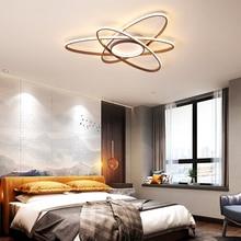 Creative Modern LED Chandelier Bedroom Lamp Dining Room hardware Surface Mount lighting Size 60/85/98/120CM