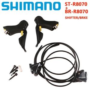 Image 5 - SHIMANO R8070 Di2 Groupset ULTEGRA R8070 Derailleurs ROAD Bicycle ST+FD+RD R8050 Front Derailleur REAR DERAILLEUR Shifter R8050