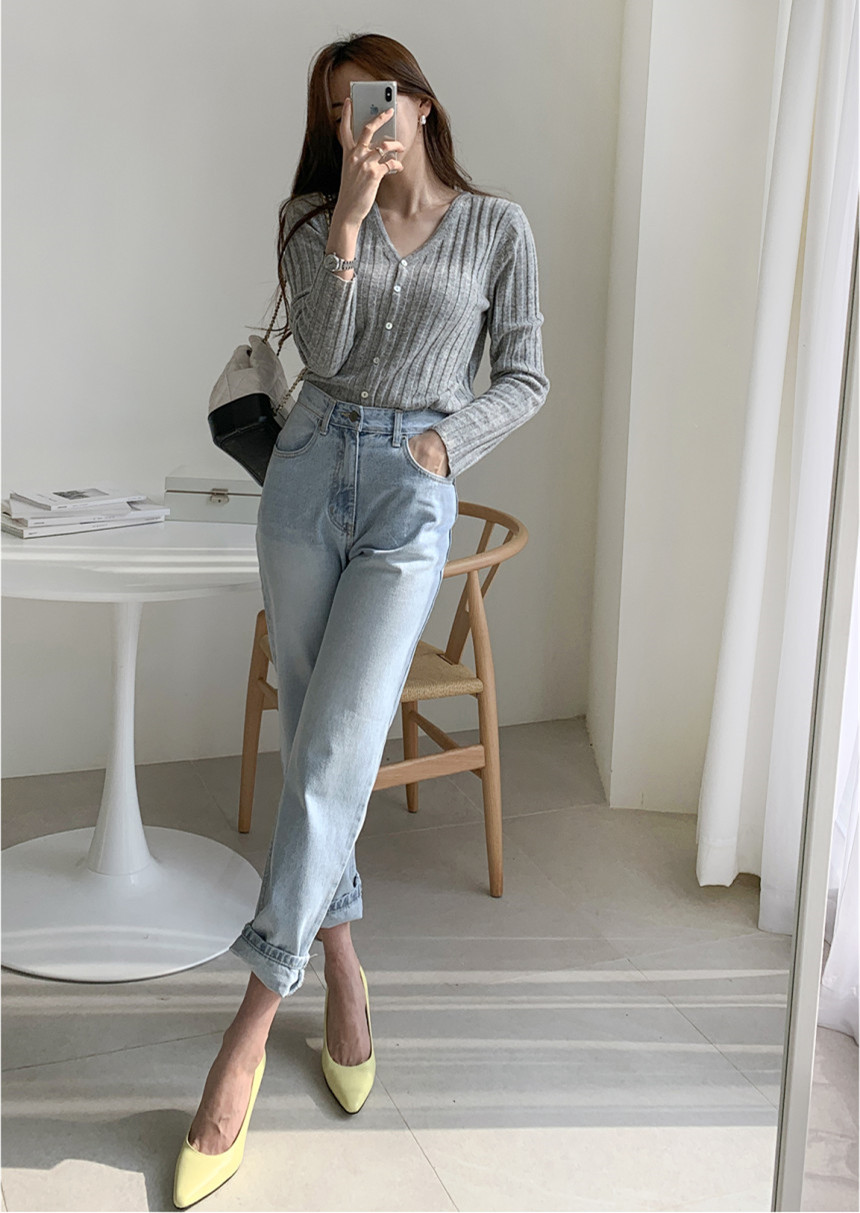 Cotton  Jeans Woman High Waist Casual Harem Jeans 2020 Spring New  Hot Sale