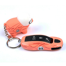 Car Key Case Cover for Porsche Keyless Remote Casing Side Shell Cap ABS Protection