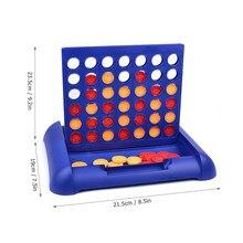 4 In 1 Lijn Board Game Kids Families Partijen 4 In Een Rij Bingo Board Games Entertainment Voor Leeftijd 5 en Up