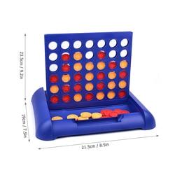 4 em 1 linha jogo de tabuleiro crianças famílias festas 4 em uma linha bingo jogos de tabuleiro entretenimento para a idade 5 e para cima