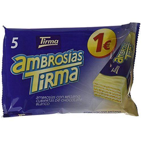 Tirma Ambrosías Con Relleno Cubiertas De Chocolate Blanco - 16 Unidades X 107.5 Gr