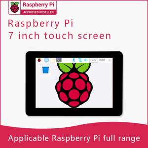 Original Official LCD Touch Screen 7inch Capacitive Touch Display Module for Raspberry Pi 4/3B+ 7'(China)