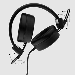Image 4 - Remax headphone portátil com entrada aux e microfone, headset para pc, mp3, com cancelamento de ruído, fio de 3.5mm mp4